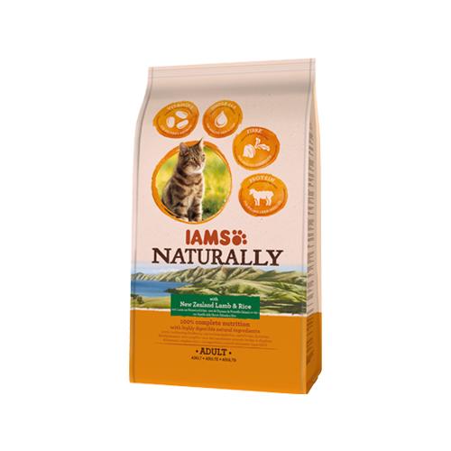 IAMS Naturally - Chat - Agneau et riz