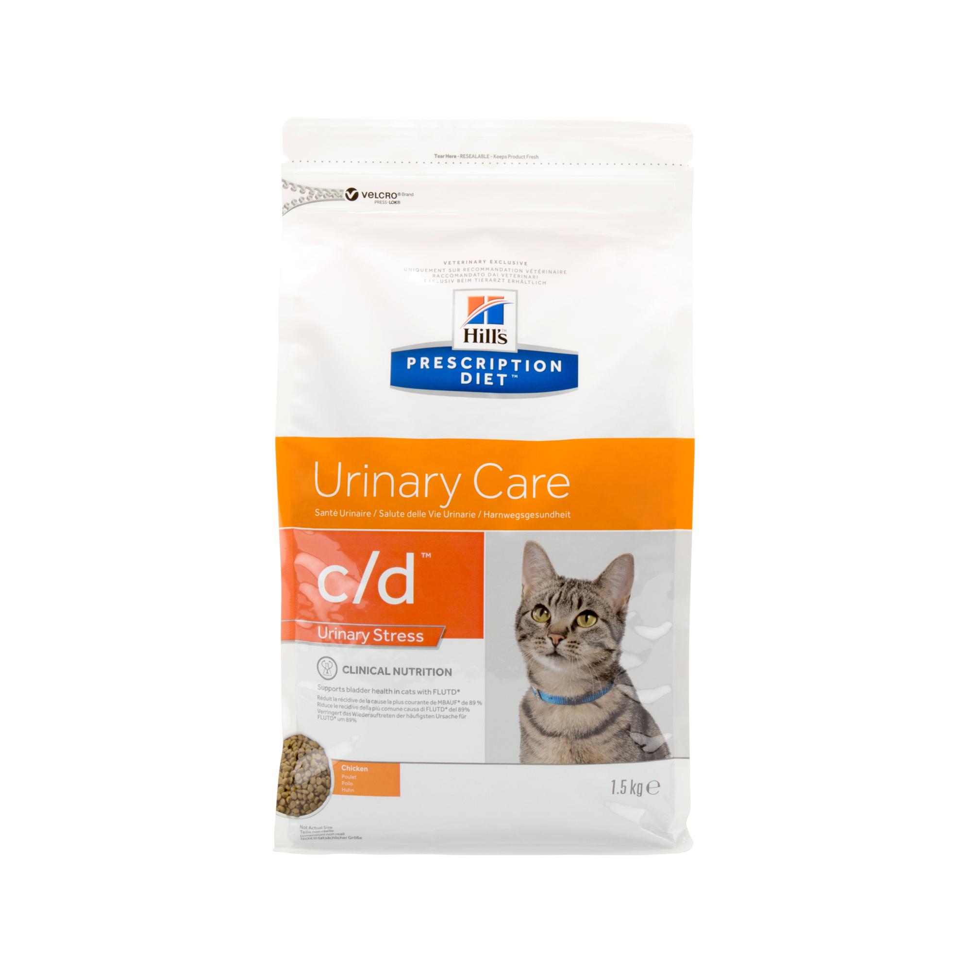 Hill's Prescription Diet c/d Urinary Stress Katzenfutter - Huhn