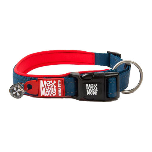 Max & Molly Smart ID Collier pour chien - Rouge