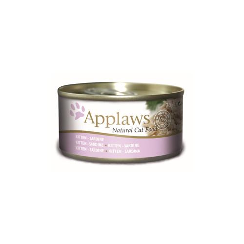 Applaws Kittenfutter - Dosen - Sardine - 24 x 70 g