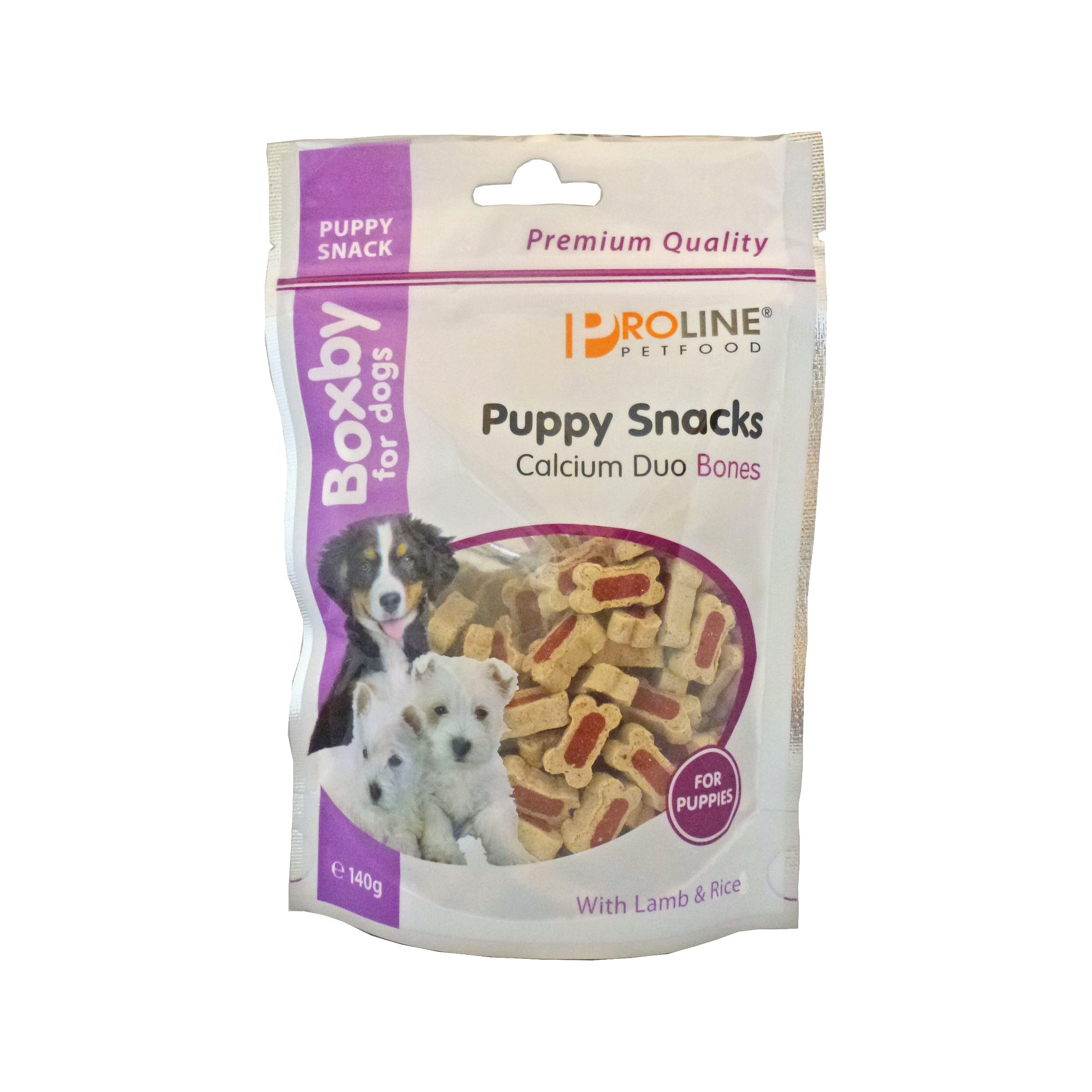 Boxby Puppy Snacks Duo Calcium Bones