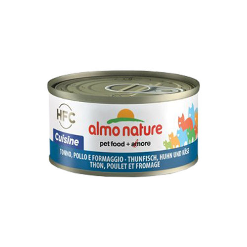 Almo Nature HFC 70 Cuisine - Thon, poulet et fromage