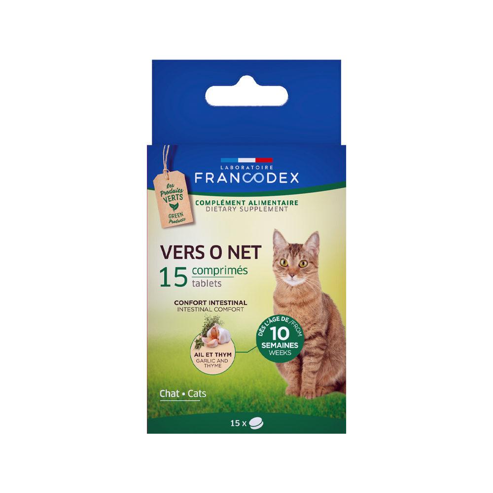 Francodex Vers O Net - Comprimés pour chat