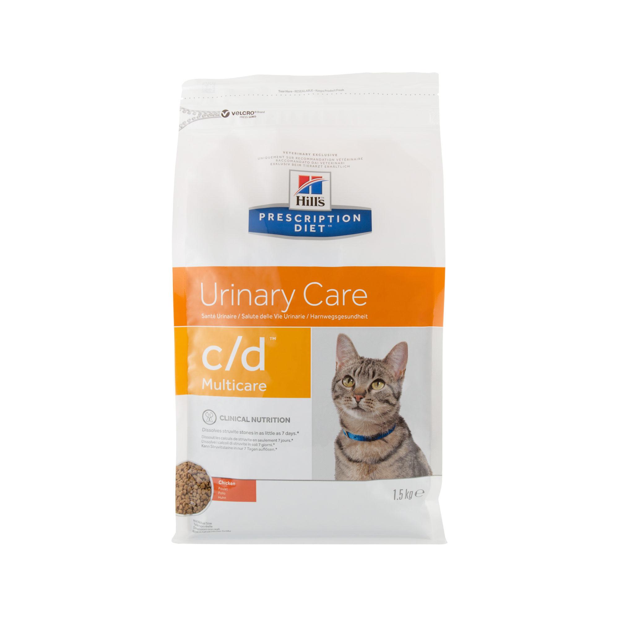 Hill's Prescription Diet c/d Multicare Katzenfutter - Huhn