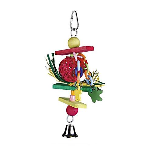 Beeztees Vogelspielzeug 'Trinox' aus Holz