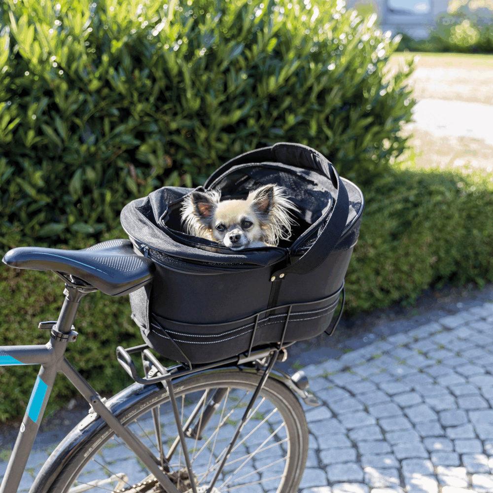 Trixie Panier à vélo pour étroit Porte-bagages