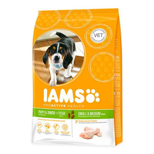IAMS Puppy & Junior Small & Medium Hundefutter