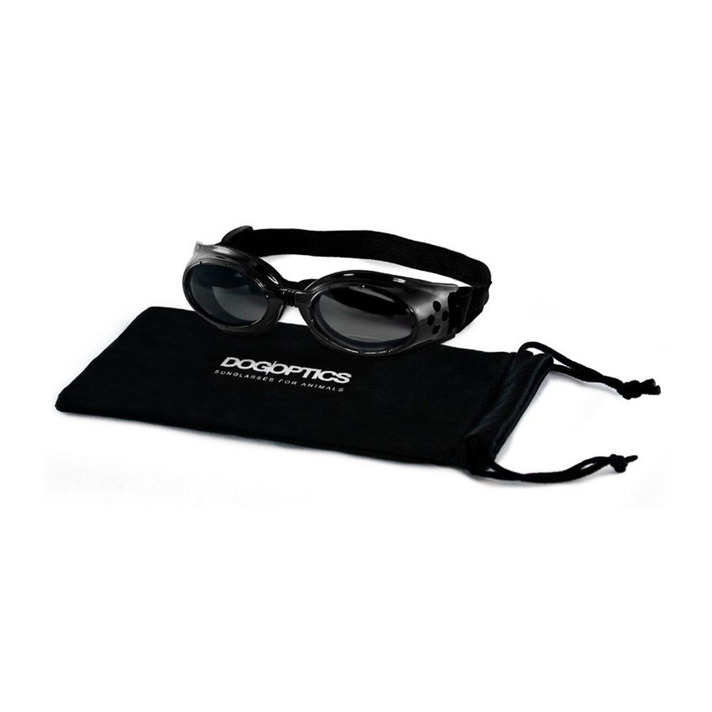 Dogoptics Hundesonnenbrille Ibiza - Black Frame & Mirror Lens