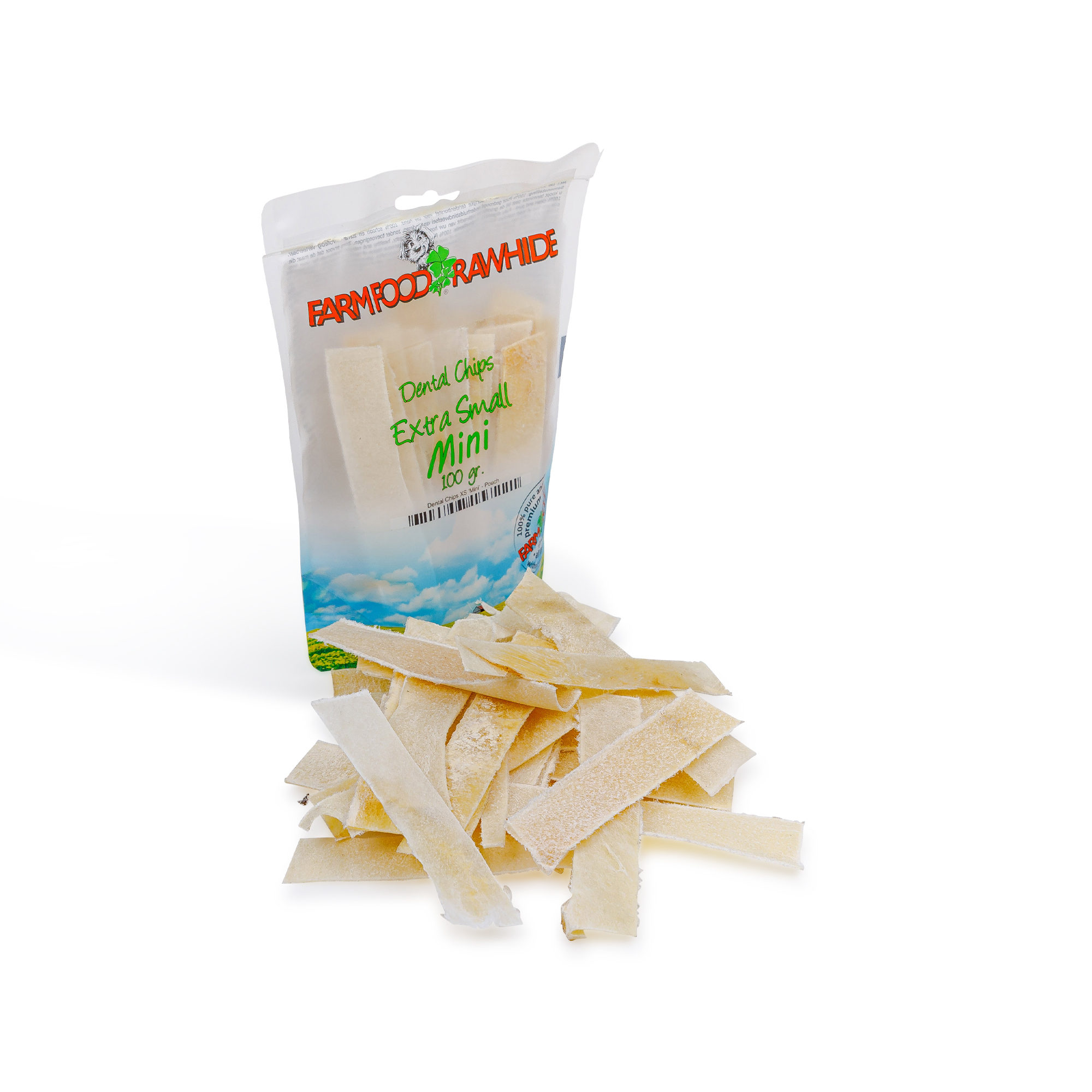 Farm Food Rawhide Dental Chips Mini