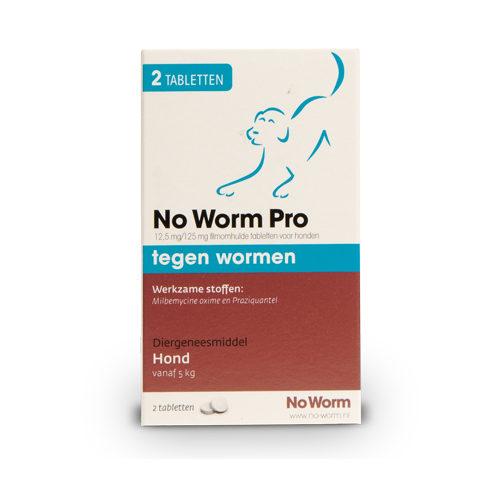 No Worm Pro - Chien - 2 comprimés