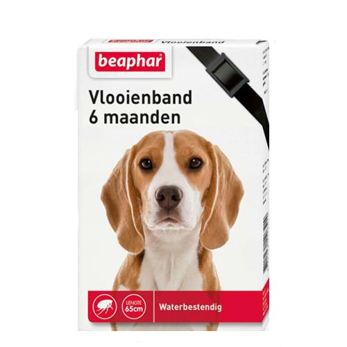 Beaphar - Collier anti puce pour chien- 6 mois - Noir