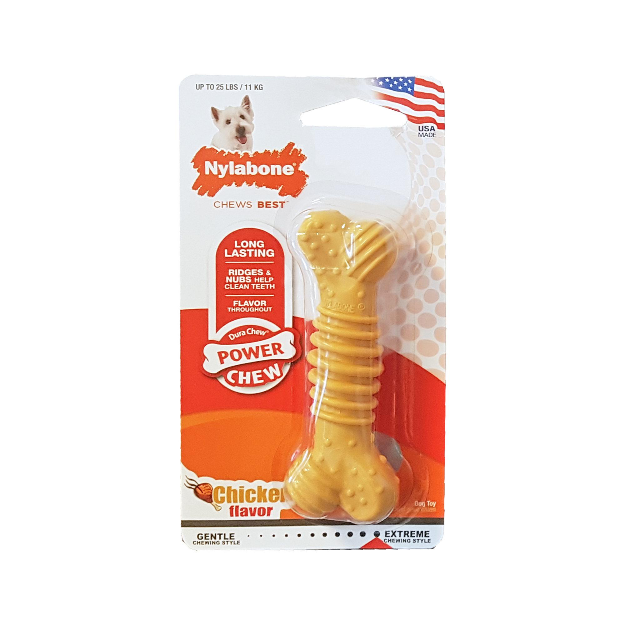 Nylabone Dura Chew Plus Chicken - Os pour chien
