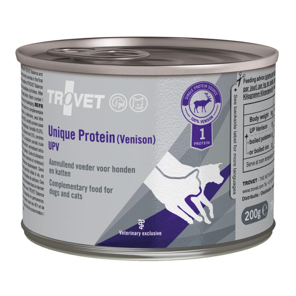 TROVET Unique Protein UPV - Venison