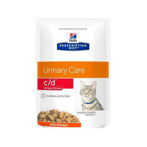 Hill's Prescription Diet c/d Urinary Stress - Sachet - Poulet