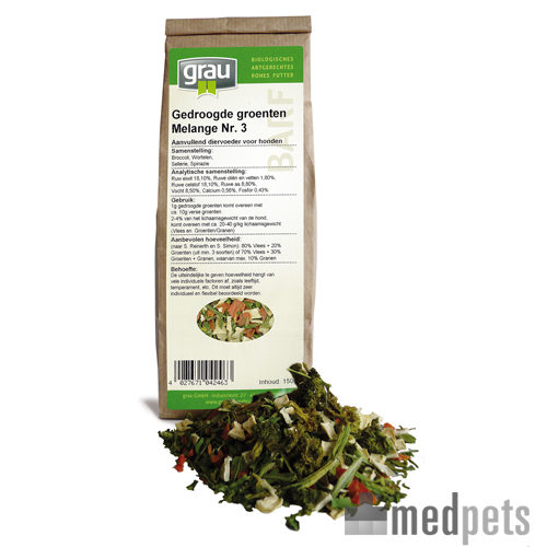 GRAU - Légumes séchés - Melange Nr. 3