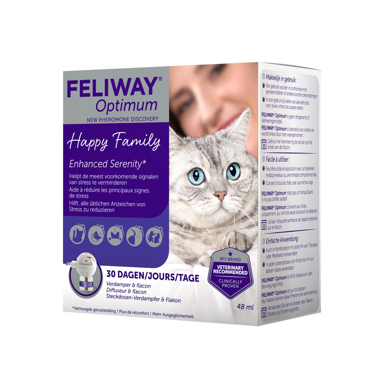 Feliway Optimum - Diffuseur & bouteille de recharge
