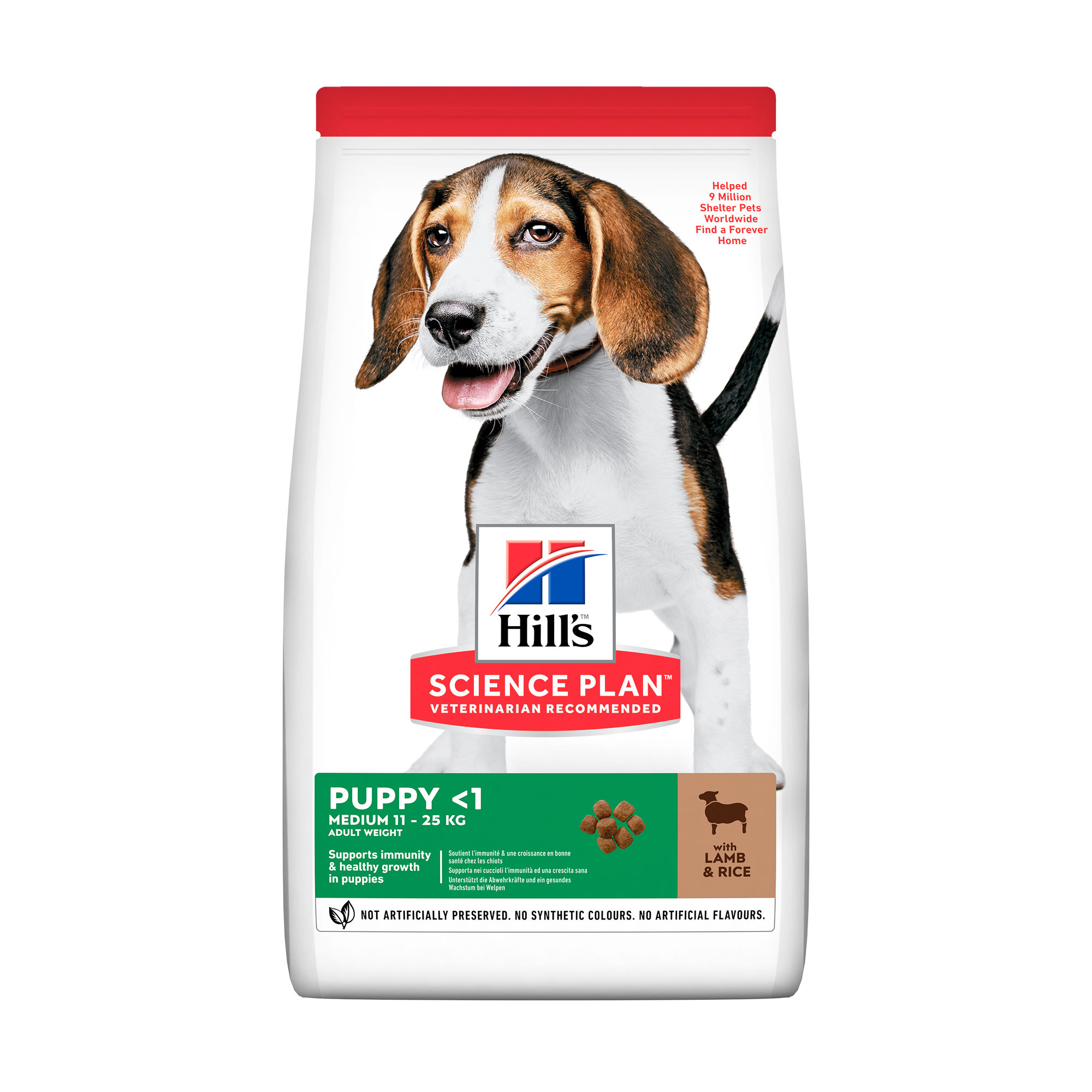 Hill's Science Plan - Puppy - Medium - Lamb & Rice