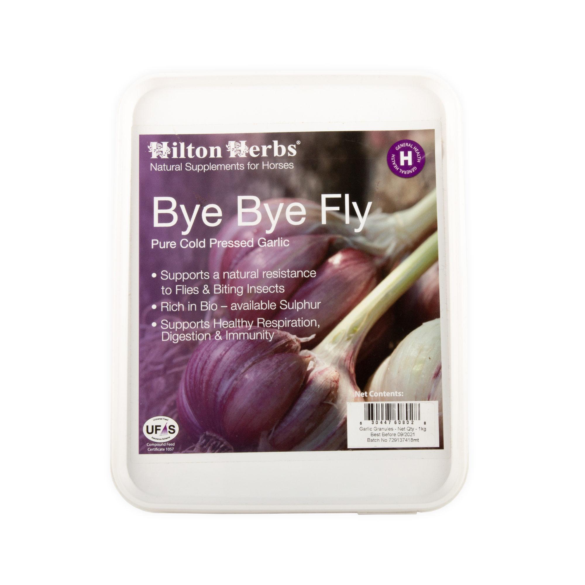 Hilton Herbs Bye Bye Fly - Ail Pur en Copeaux
