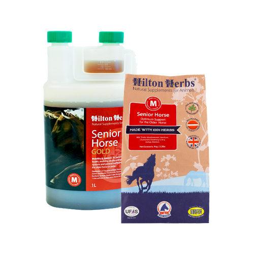 Hilton Herbs Senior Gold for Horses