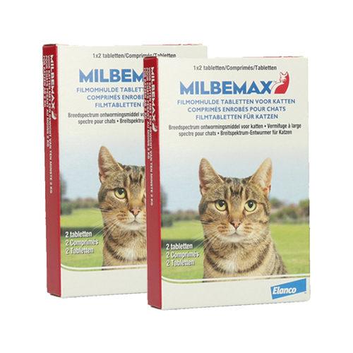 Milbemax - Grand Chat - 4 comprimés