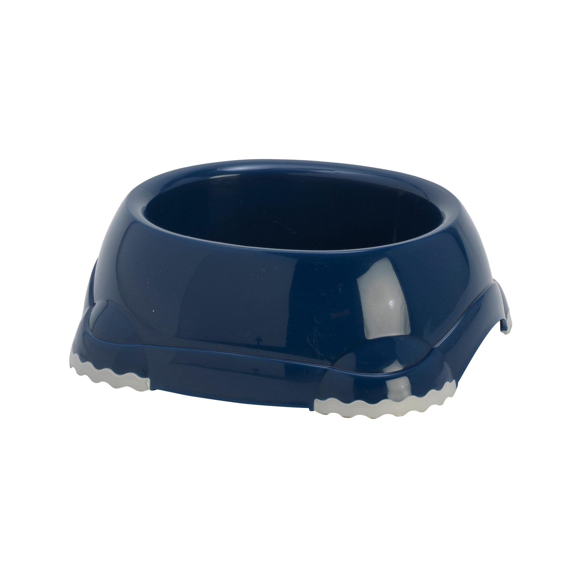 Moderna Gamelle en plastique pour chat Smarty - Bleu marine