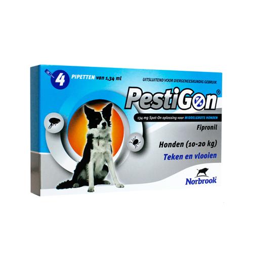 Pestigon - Spot-on pour chien - 10 - 20 kg