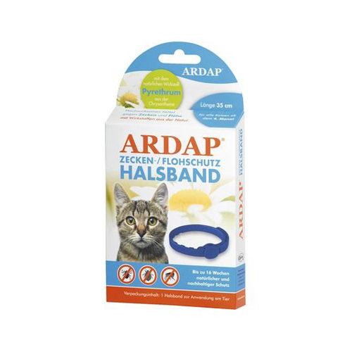Ardap Zecken-/Flohschutz-Halsband für Katzen