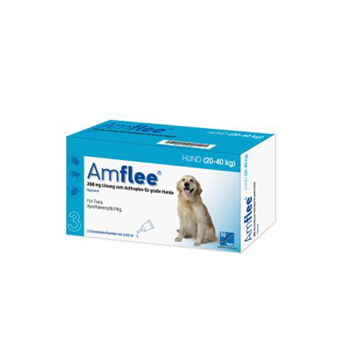 Amflee Spot-on Chien - 268 mg - 3 pipettes