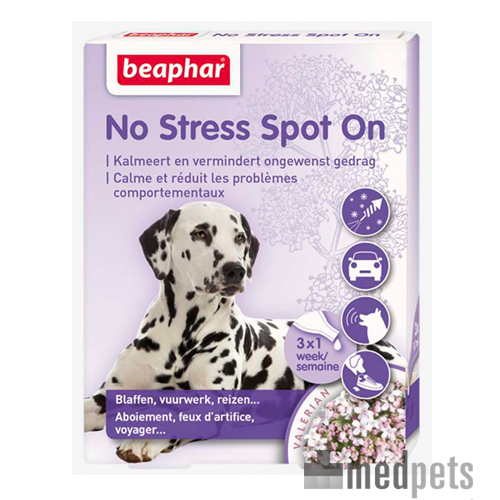 Beaphar No Stress - Hund - 3 Pipetten