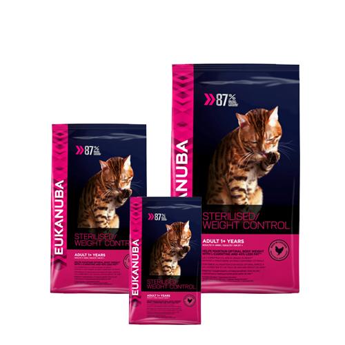 Eukanuba Cat - Sterilised & Weight Control - Chat