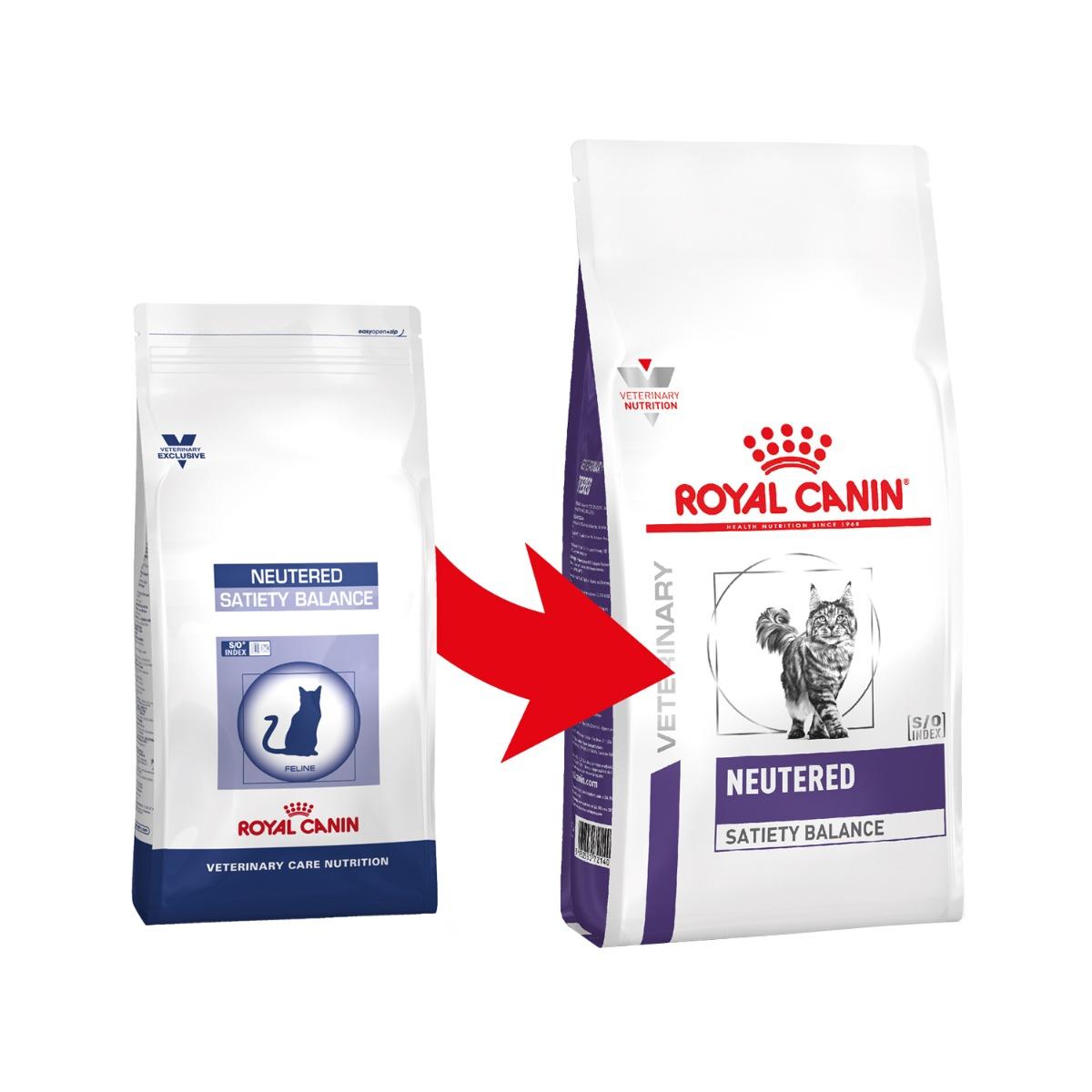 Royal Canin VCN Neutered Satiety Balance Katzenfutter