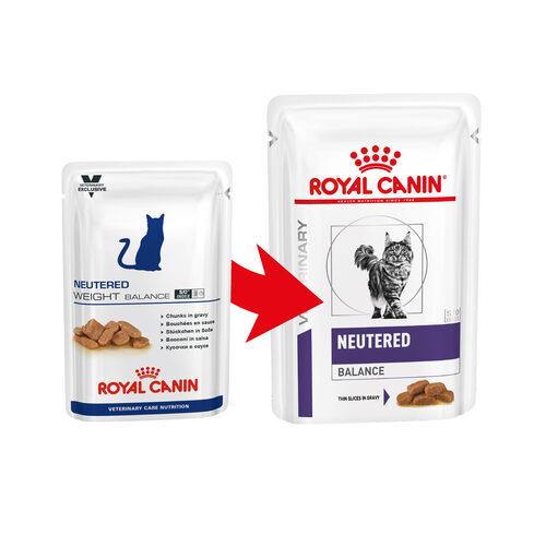 Royal Canin VCN - Neutered Weight Balance - Sachet