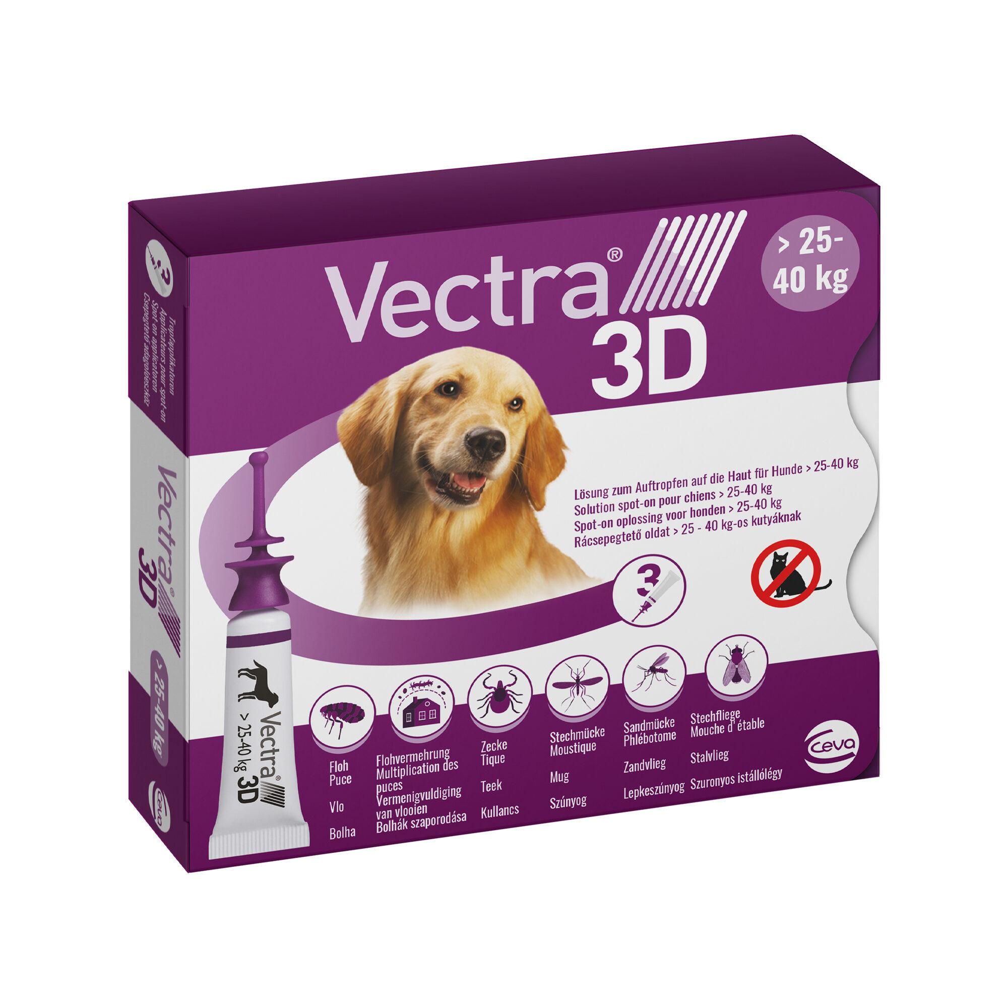 Vectra 3D Dog L - 25 bis 40 kg
