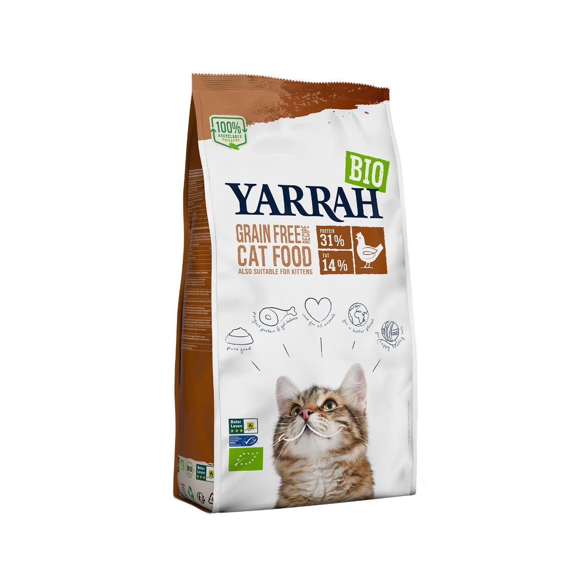 Yarrah Bio Getreidefreies Katzenfutter