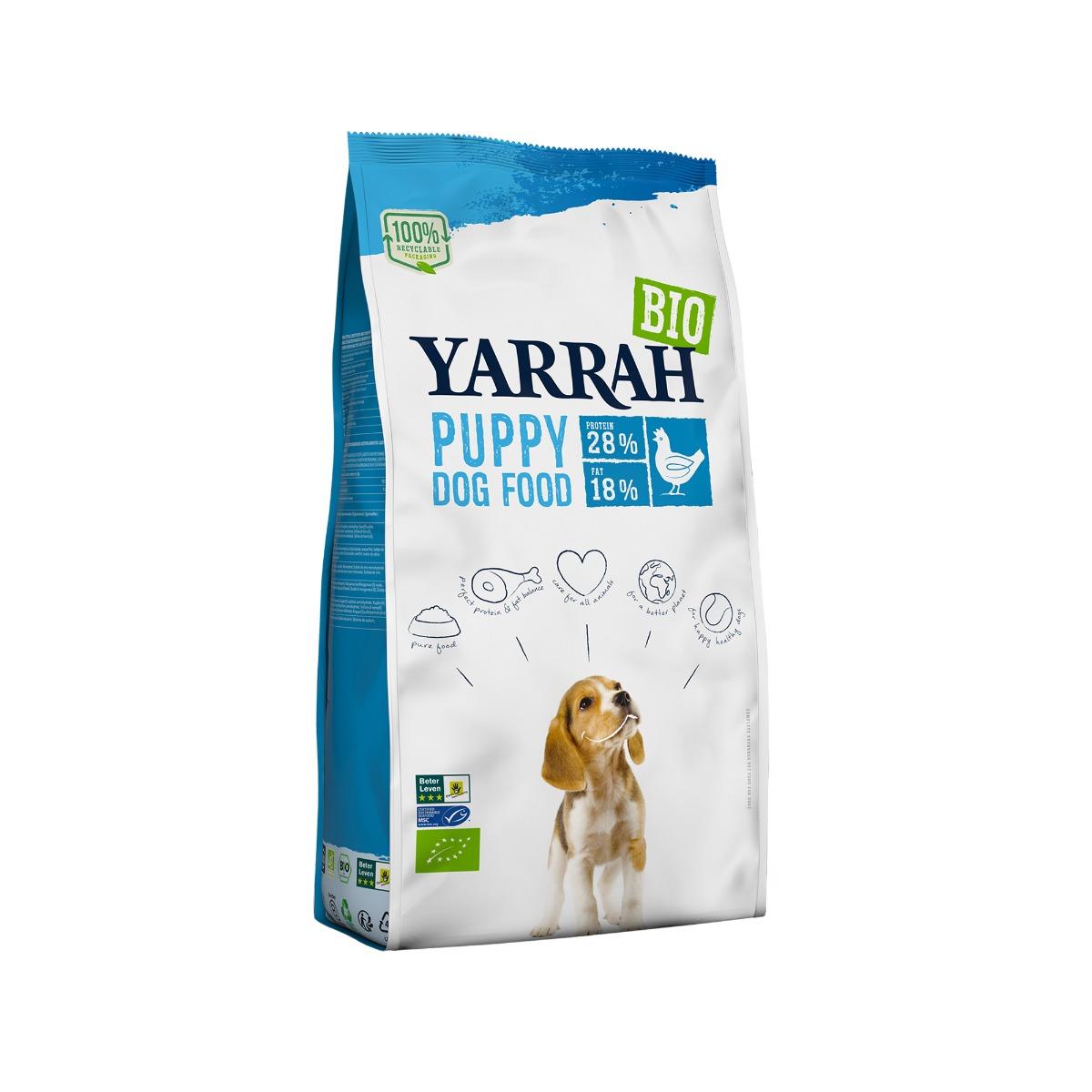 Yarrah Bio Puppy Hundefutter - Huhn