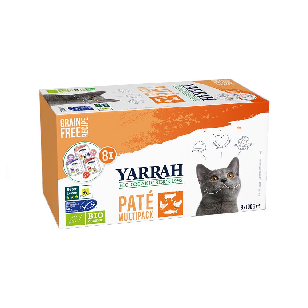 Yarrah Multipack Bio Paté pour Chat - Barquette