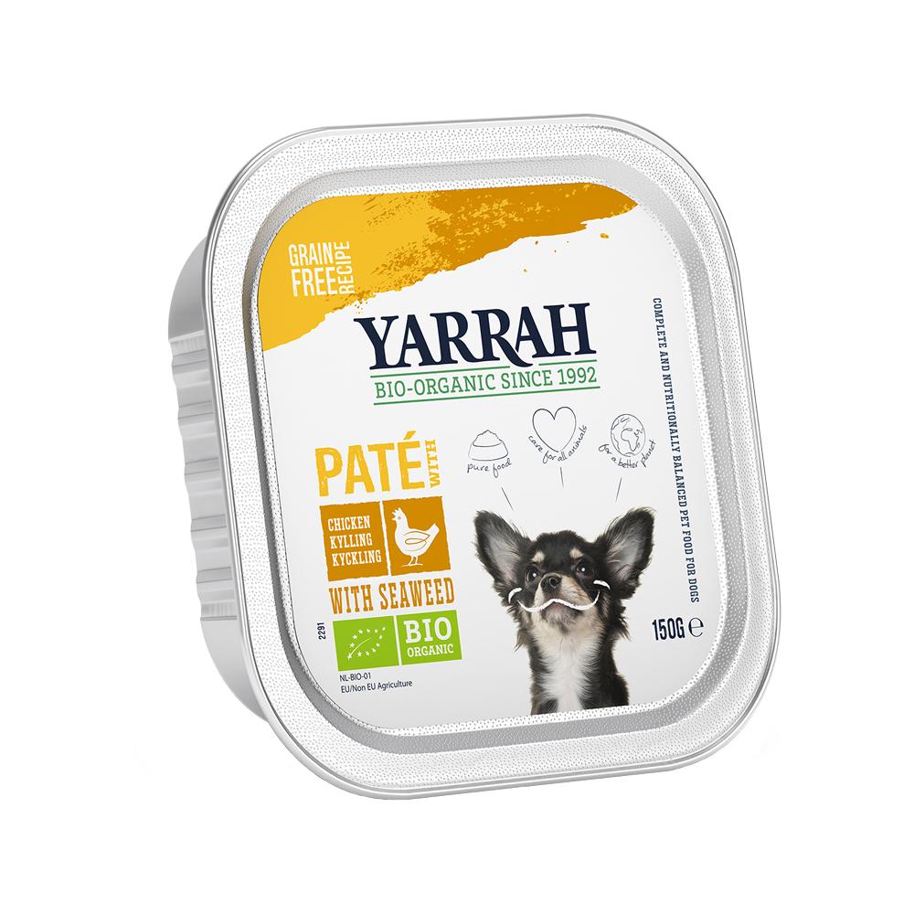 Yarrah Bio Paté - Barquette - Poulet & algue