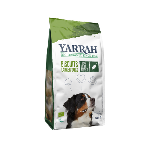 Yarrah Vegetarische Hundekekse Bio
