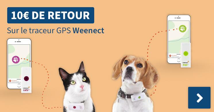 10€ De Retour Sur le traceur GPS Weenect